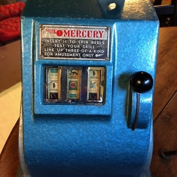 Groetchen Mercury Trade Stimulator - Coin Operated
