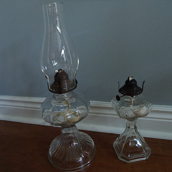 Old-fashioned Kerosene Lamps