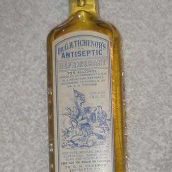 Dr. Tichenor's Antiseptic - Bottles