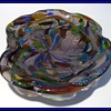 Murano Art Glass Bowl ( or Ashtray ) - Formed bottom