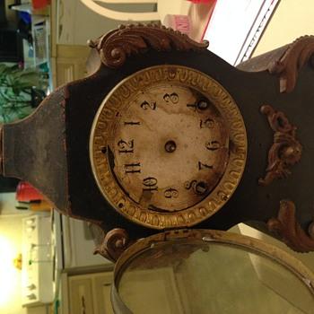 Ansonia cast and brass I believe  - Clocks