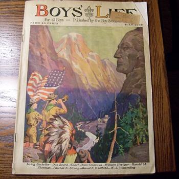 1932 BOYS LIFE magazine - Paper