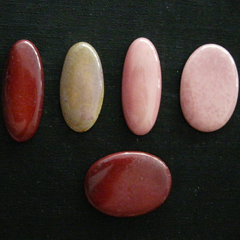 SOME UNMARKED CABOCHONS