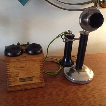 SAMSON candlestick telephone - Telephones
