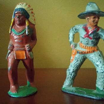 cowboy and indian - Toys