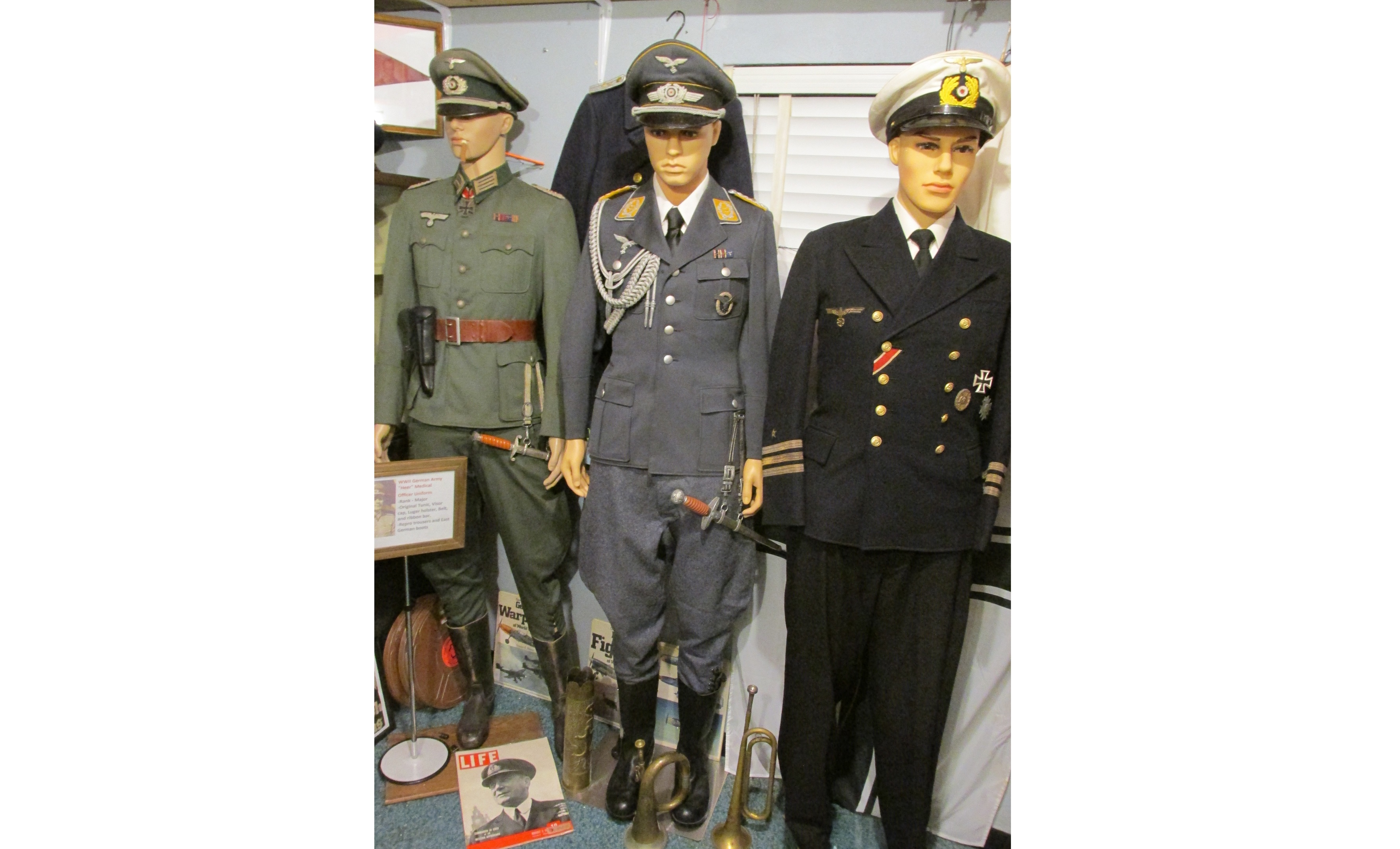 WWII German Luftwaffe Lieutenant Colonel Officer Uniform