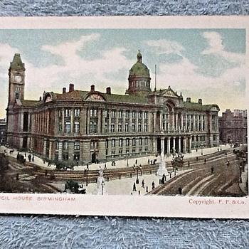 1919- old postcards- Birmingham England.