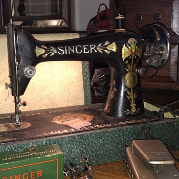 Help me identify my antique singer sewing machine - Sewing