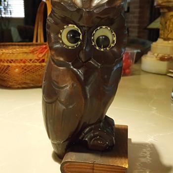 Oswald Owl Rolling Eyes, clock, 1926 - 1940 - Clocks