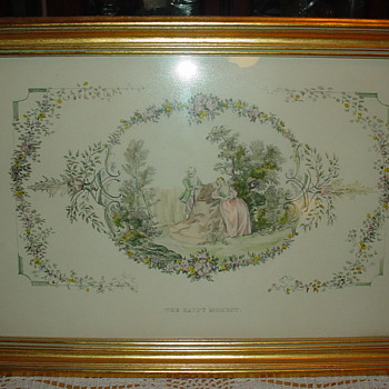 """Framed Print """"The Happy Moment"""""""