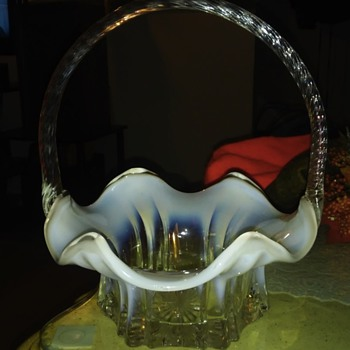 all i know is its fenton??? - Art Glass