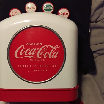 Coca-Cola Tombstone Dispenser - Coca-Cola