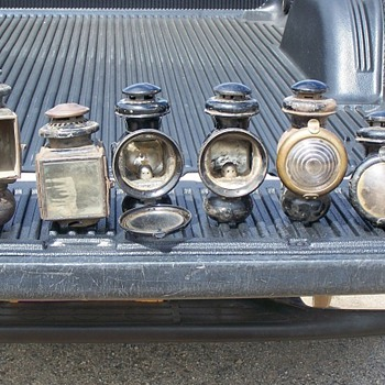 Old Car side lamps