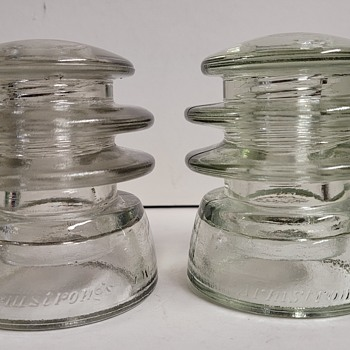 Armstrong's Glass Insulators  - Tools and Hardware