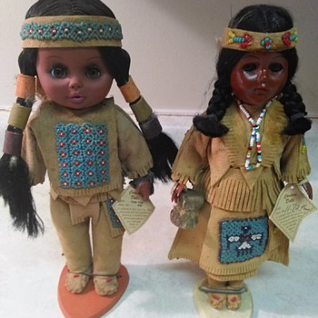NATIVE AMERICAN DOLLS - Dolls