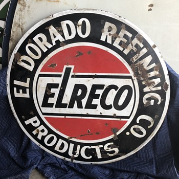ElReco refinery - Signs