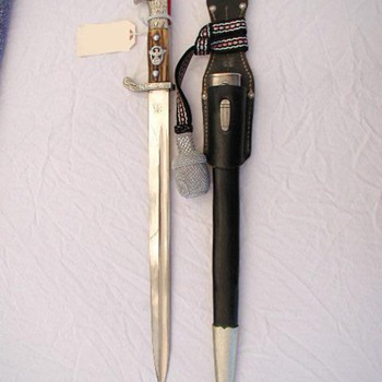 Third Reich Municipal Police Bayonet - Military and Wartime