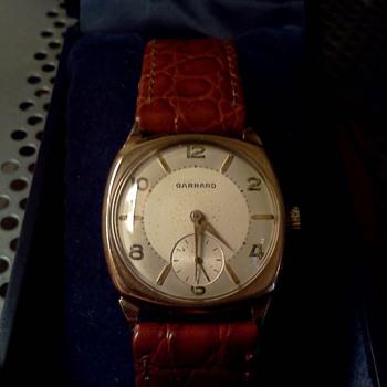 1946 Garrard 9K case - Wristwatches