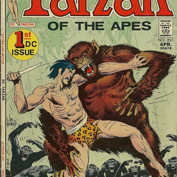 Tarzan of the Apes - First DC Issue - 1972