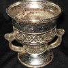 Vintage Old Mug Metal Cup with Celtic Symbols, Is It Rare ?