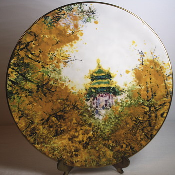 "Chen Chi""Imperial Palace""Royal Daulton, Collectable Plate - Asian"