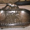 Silverplate Bowl with Figural Lobster