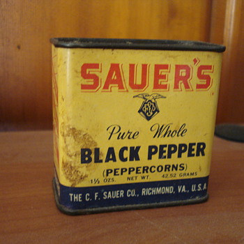 Sauer's Pure Whole Black Pepper - Advertising