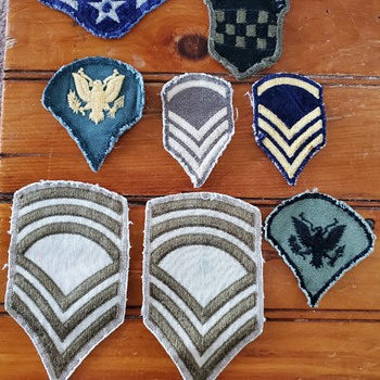 World War 2 patches - Military and Wartime