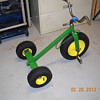 My flea market tricycle