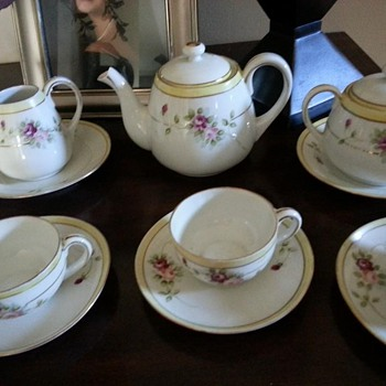 Recent find Nippon hand painted Rising sun tea set - China and Dinnerware