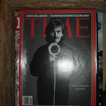 George Harrison Memorial Magazine - Music Memorabilia