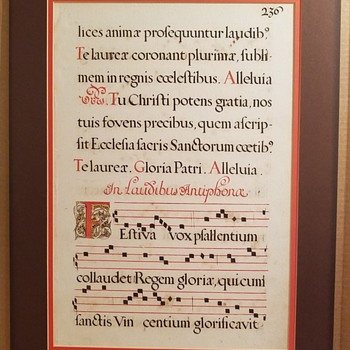 Latin Christian Music Sheet - Music Memorabilia