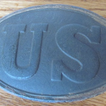 The US belt plate - Military and Wartime