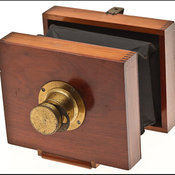 "Anthony's Eureka Camera AKA ""Companion"" Camera c. 1890"
