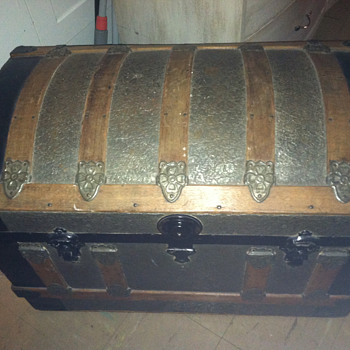An old trunk found years ago in Boston, MA - Furniture