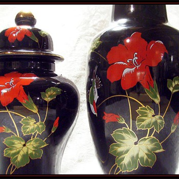Another Japanese Vase ( Matched Set )