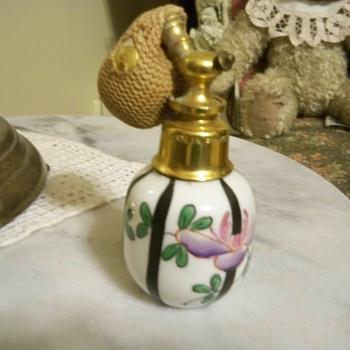 Victorian perfume bottle