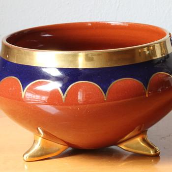 Hans Haffenrichter for Royal majolica workshops Cadinen - Art Deco