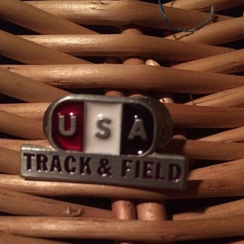 USA Olympic Track and Field Pin - Medals Pins and Badges