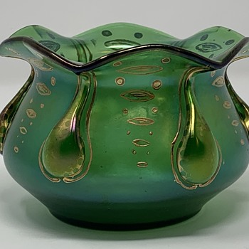Loetz Vesuvian, PN Unknown, DEK I/264, ca. 1901 - Art Glass