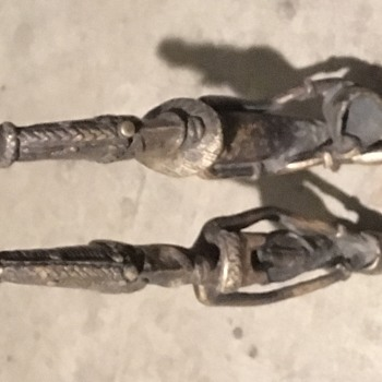 Status of a male and female  - Figurines