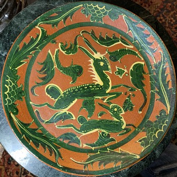 6 Fantasia Plates from Tonala, MEX - Pottery