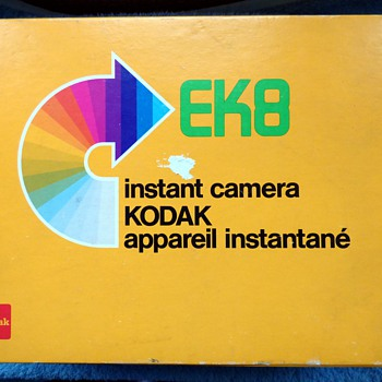 1977-1979, kodak ek 8 instant picture camera.