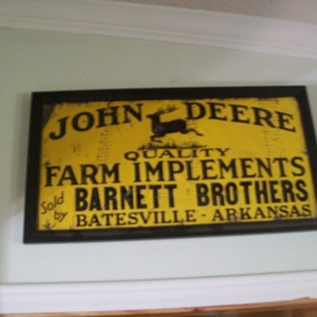 John Deere sign - Signs