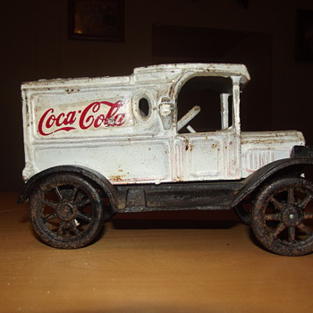 Cast Iron Truck - Coca-Cola