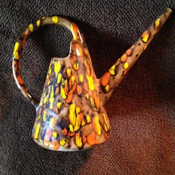 Disco Era Ceramic Watering Container - Pottery
