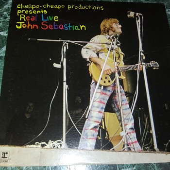 Countdown To Woodstock...#1...Mr. John B. Sebastian...On 33 1/3 RPM Vinyl - Records