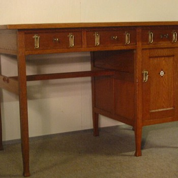 Dutch desk ''Onder den Sint Maarten'' - Art Deco