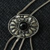Hand made Silver and onyx necklace