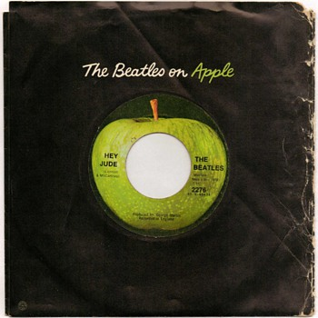 "45rpm Record - ""The Beatles"" (1968)"